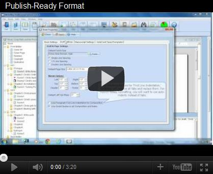 Publish-Ready Formating